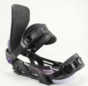 Bent Metal Cor-Pro Snowboard Bindings Medium (US Men's 8-11) Black New