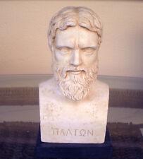 Plato Bust - Greek Philosopher student of Socrates - Platonas