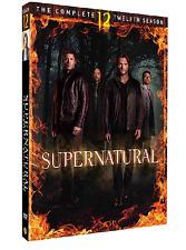 Supernatural Season 12 (DVD, 2017, 6-Disc Set) NEW RELEASE US Seller FAST SHIP!