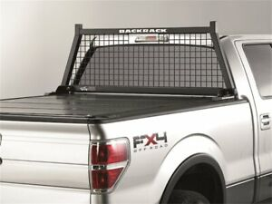 For Chevrolet Silverado 2500 HD Cab Protector and Headache Rack Backrack 48875HQ