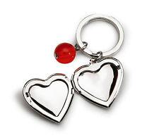 Modeschmuck-Halsketten & -Anhänger aus Aluminium mit Herz-Schliffform