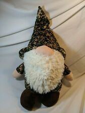 The Gnomlins Forest Gnome Plush camouflage with Tags
