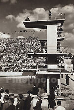 1936 Vintage OLYMPICS DIVING & Leni Riefenstahl Photo Art 11x14 By Dr PAUL WOLFF