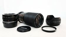 Olympus PEN OM Panasonic LUMIX Micro 4/3 DSLR fit 70mm 210mm 420mm ZOOM lens