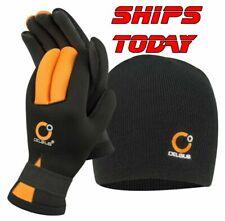 Ice Fishing Celsius Neoprene Waterproof Gloves & Hat