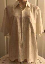 (114)Womens Clothing=Polo Ralph Lauren Short Sleeve Blouse Sz-16-18