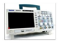 HANTEK 2 CHANNELS 70MHz 100MHz 200MHz Digital Oscilloscope 1GSa/s  sample rate