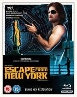 Escape from New York Blu-Ray (2018) Kurt Russell, Carpenter (DIR) cert 15 2