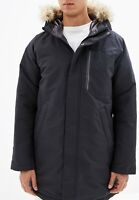 Adidas Utility  Duck Down Parka Coat, Size Men's Large, Black, EH3975, NWT New