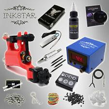 Complete Tattoo Kit Professional Inkstar 1 Machine VENTURE ROTARY Set GUN Black