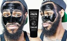 BLACK Face MASK Peel-Off Blackhead Removing Acne Purifying 80ml by REVUELE