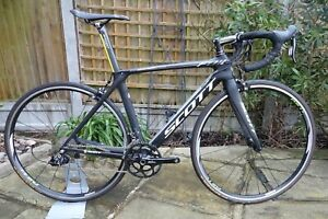Scott Foil 20 Carbon Fibre Road Bike Sram Rival Size: S Specialized Giant
