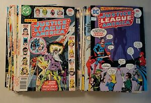 JUSTICE LEAGUE OF AMERICA LOT of 39 Bronze Age Comics