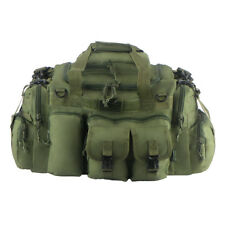 26 IN Tactical Duffel Olive Dufflebag Green Range Bag Molle Straps Multi Pocket