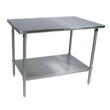 "John Boos St6-24108Ssk Work Table Stainless Undershelf 108""W x 24""D"