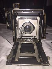 4x5 Pacemaker Speed Graphic With 2 Film Holders