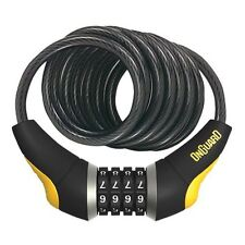 OnGuard 8032 Doberman 6' x 10mm Reset Combination Bike Cable Lock fit Kryptonite