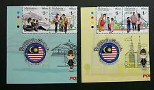 National Unity Malaysia 2013 Architecture Bridge Costume (stamp with logo) MNH