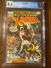 X-MEN #109 2/78 CGC 8.5 WHITE PAGES! FIRST WEAPON ALPHA - EXCELLENT HIGH GRADE!