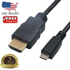 1.5m 5ft Micro USB Male to HDMI Male Connection Power Supply Extension Cable