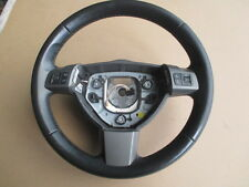 VAUXHALL ASTRA MK 5  STEERING WHEEL WITH CONTROLS BLACK LEATHER FROM 2005