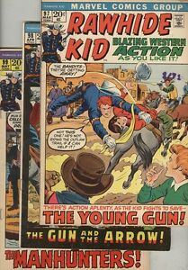 Rawhide Kid #97, #98, #99, #100, #101 and #102