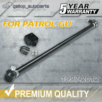 ADJUSTABLE HD Front Drag Link Tie Rod Ends & Bracket fits NISSAN PATROL GU Y61