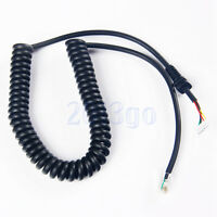 Mic Cable For Yaesu Microphone MH-48A6J MH-42B6J FT-7800R FT-8800R FT-8900R CG