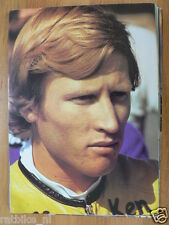 KENNY ROBERTS POSTER CC 1978 ROADRACE,PILOTE CONTINENTAL CIRCUS MOTO GP