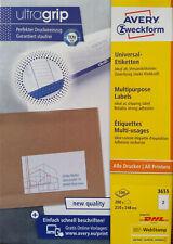 AVERY Zweckform 3655 Etiketten Versandetiketten 210 x 148 mm Menge nach Auswahl