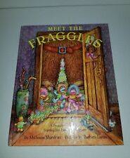 VINTAGE JIM HENSONS MUPPETS MEET THE FRAGGLES HB BOOK 1985