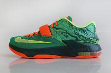 Nike KD 7 VII Durant Weatherman 653996 303 Mens Size 11.5 Emerald Green Silver