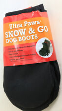 Ultra Paws Extreme 4 Dog Boots Shoe Covers Booties Black Size X-Large NEW