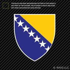 Bosnian Coat of Arms Sticker Decal Vinyl Bosnia and Herzegovina flag BIH BA