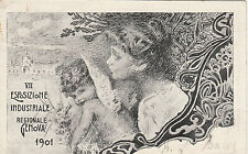 NP7833 - VIII EXPO INDUSTRIALE GENOVA 1901 VIAGGIATA 1901