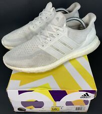 Adidas Ultra Boost 2.0 Running Shoes Mens Size 10.5 Triple White