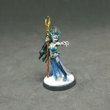 Warhammer AOS Cities of sigmar Dark elf Sorceress Painted