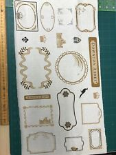 Downton Abbey Labels Fabric By Andover Fabrics