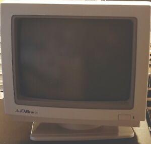 Rare Vintage ATARI PCM124 Monitor CGA