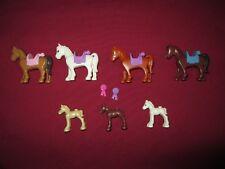 LEGO Friends Horse   Minifigures Lot.7 Horses 4 saddles