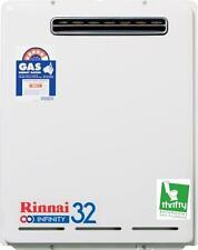 Rinnai Infinity 32 Continuous Hot Water System for Natural Gas 50 or 60°CModel