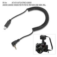 2.5mm S2Remote Trigger Shutter Release Cable for Sony A7 A7R NEX-3NL A6000 HX300