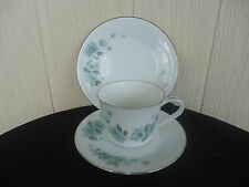 vintage retro noritake RC Alouette royal ceramics 765 trio cup saucer & plate