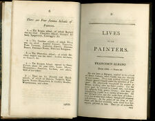 1803 -  Lives of the Most Eminent Painters - Scarce.