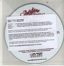(CU611) Daytone Lights, Lillian - 2012 DJ CD