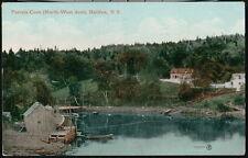 HALIFAX NOVA SCOTIA Purcels Cove Antique View Postcard Old Vtg Fishing Town PC