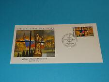 WWII FDC W44 Lidice Czechoslovakia Hitler Germany * 50th Anniversary