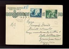 1942 Belgrade Yugoslavia censored cover to Italy Concentration Camp Gonars Udine