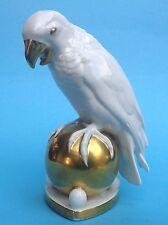 PORCELLANA PERSONAGGIO Nouveau pappagallo uccelli Hutschenreuther m.nr.22 Fritz Trifoglio ~ 1910