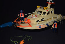 Playmobil bateau garde de côtes